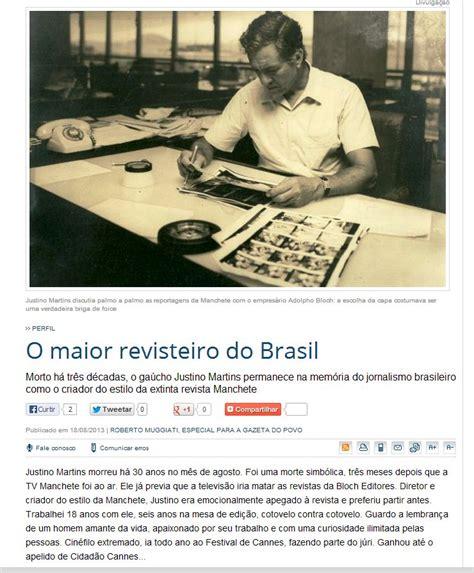Blog que virou manchete - Panis Cum Ovum: Roberto Muggiati ...