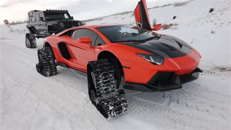 Patrick morris las vegas, nevada. Lamborghini on Snow Tracks Is a World First, Also a Bad Idea - autoevolution