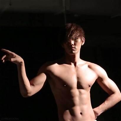 Kyungil History Song Shirtless Male Idols Shirt