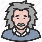 Einstein Icon Albert Icons Getdrawings Scientist Clipground