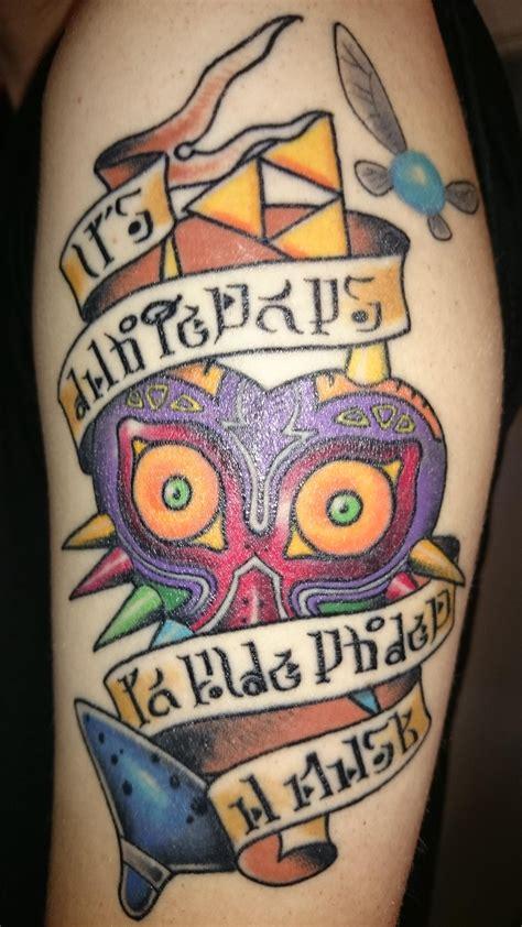 zelda tattoo   ben jenkins   tattooed