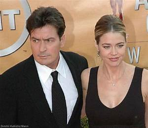 Do Charlie Sheen and Denise Richards get along now?