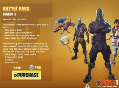 fortnite battle royale battle pass orczcom  video
