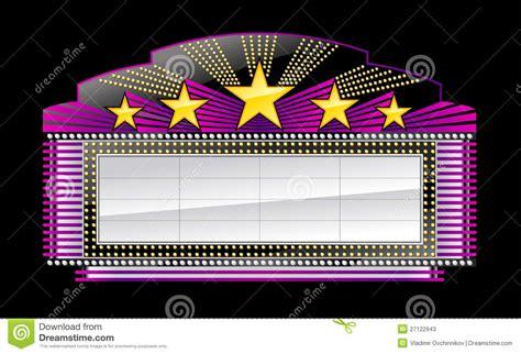 Movie Billboard Clip Art marquee banner black stock vector illustration  gold 1300 x 885 · jpeg