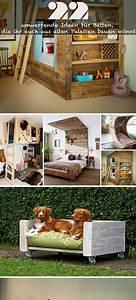Ideen Für Paletten : 22 umwerfende ideen f r betten die ihr euch aus alten paletten bauen k nnt ~ Sanjose-hotels-ca.com Haus und Dekorationen
