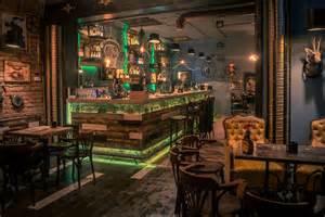 design bar steunk joben bistro pub inspired by jules verne s fictional stories freshome