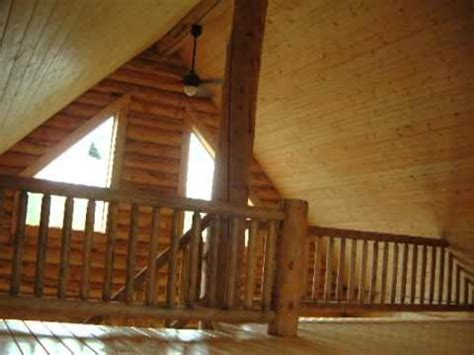 log cabin construction video series sterling