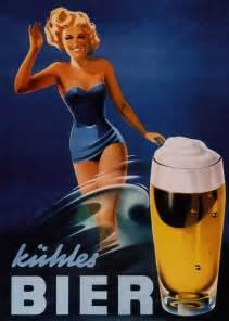 Vintage German Beer Ad