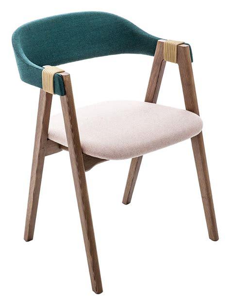 fauteuils de salle a manger fauteuil rembourr 233 mathilda tissu bois turquoise p 226 le noyer moroso