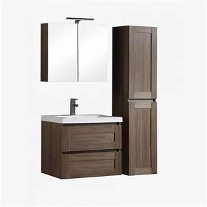 Refrigerateur 80 Cm De Large : aqualuna ensemble de salle de bain 80 cm ~ Dailycaller-alerts.com Idées de Décoration