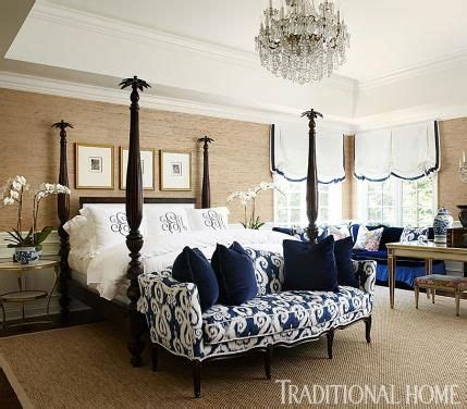 navy master bedroom new home in navy and indigo beautiful bedrooms 12684 | 09cb6af45f5cc7ba501bd7f2bfb38e82 navy and white the navy