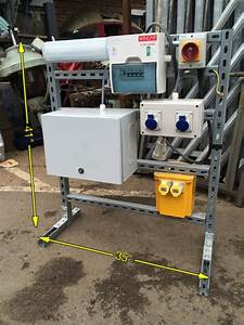 Men At Work Temporary Electric Supply Units 10 Available