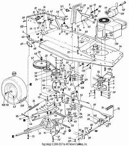 Cub Cadet Lt1018 Belt Diagram