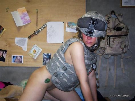Sexy Photos Of A Hot Military Chick Stripping Naked For Her Boyfriend