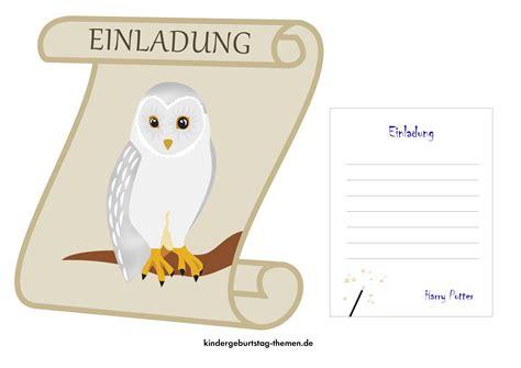 harry potter einladung harry potter einladung free printable vorlagen als pdf datei