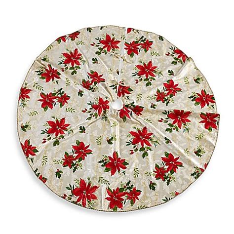 lenox 174 60 inch winter meadow tree skirt bed bath beyond