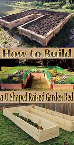 Quiet Corner:How to Build a U-Shaped Raised Garden Bed