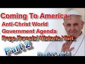 Coming to America: Anti-Christ World Government Agenda ...