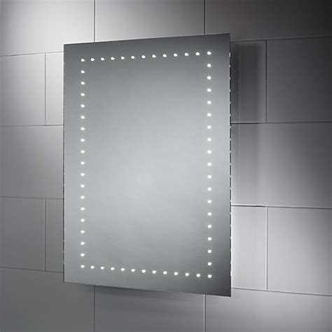 wickes dakota led bathroom mirror mm wickescouk