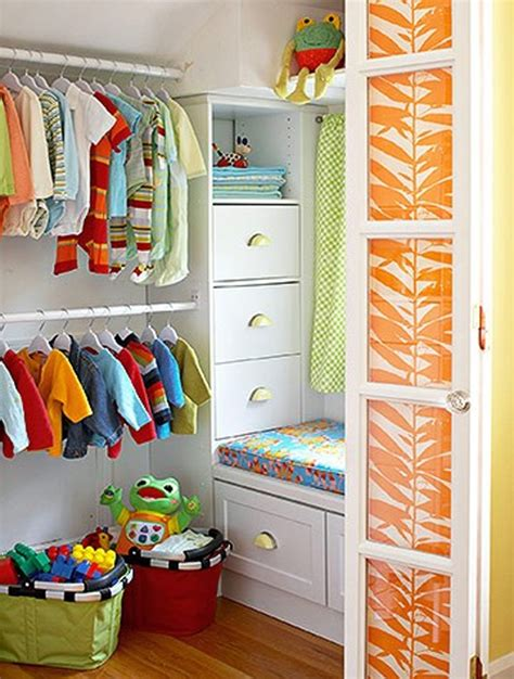 Child Closet Organization Ideas by 10 Best Closet Design With Colorful Variation Home