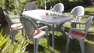 Table De Jardin Plastique Leroy Merlin