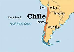 Santiago Chile Map