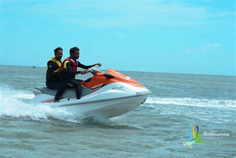 Water Scooter Game by Jet Ski In Rameswaram Rameswaram Activities Rameswaram