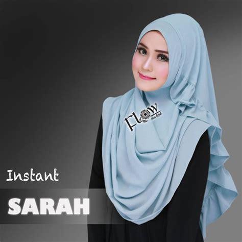 hijab instan sarah model    harga murah