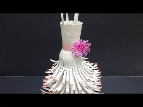 recycled craft ideas diy wedding dress out of plastic