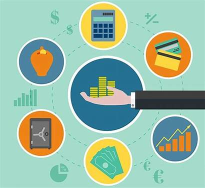 Finance Vector Vectors Dashboard Process