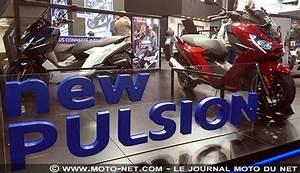 Peugeot Motocycles Mandeure : salon de paris peugeot motocycles remplace son scooter satelis par le pulsion ~ Nature-et-papiers.com Idées de Décoration
