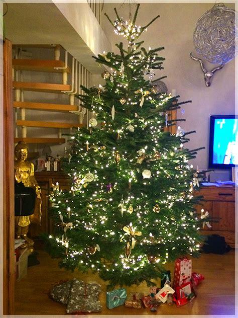 Geschmückte Weihnachtsbäume Christbaum Dekorieren dekorationsservice in m 252 nchen bei christbaumdealer