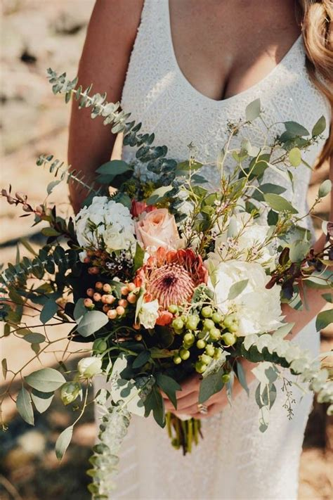 Boho Cabin Wedding At Bodega Ridge Wedding Bouquets