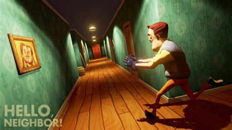 hello neighbor new demo gameplay in the basement