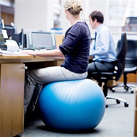People Who Sit On Those Large Rubber Balls At Work