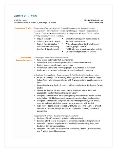 Archaeologist Resume by April 2015 Maverick Go Cliff Central