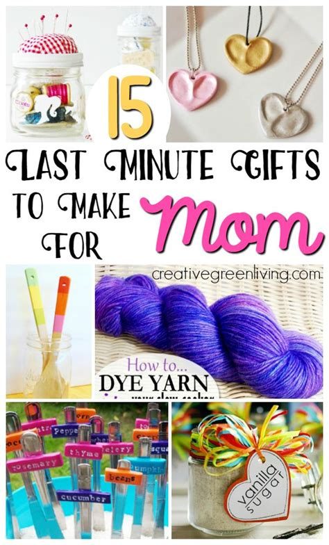 minute gifts    mom diy gifts  mom