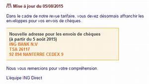 Delai Cheque De Banque : r solu d lai reception encaissement cheque l 39 ing direct web caf ~ Medecine-chirurgie-esthetiques.com Avis de Voitures