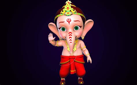 Vinayagar Animation Wallpaper - ganesha hd new wallpapers free allfreshwallpaper