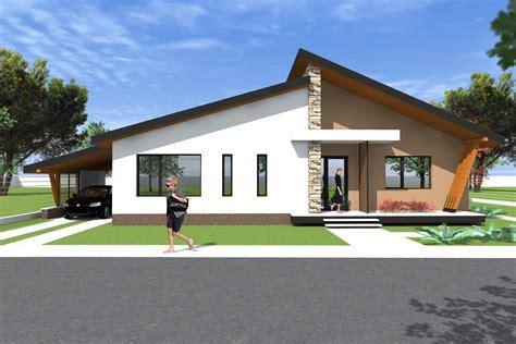 Bungalow Modern House Plans Decorating — Modern House Plan