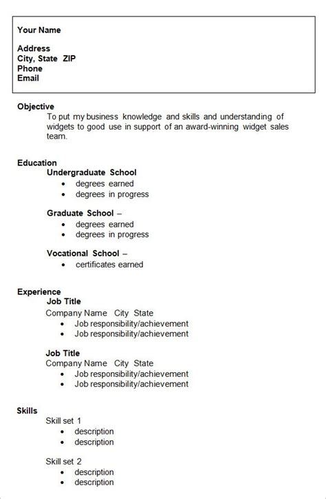 Sle College Resume by College Resume Template Doliquid