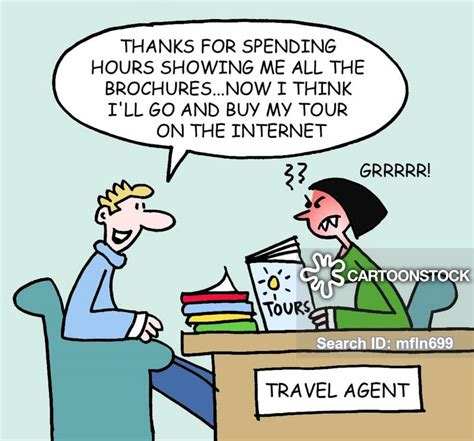 travel agancy cartoons  comics funny pictures