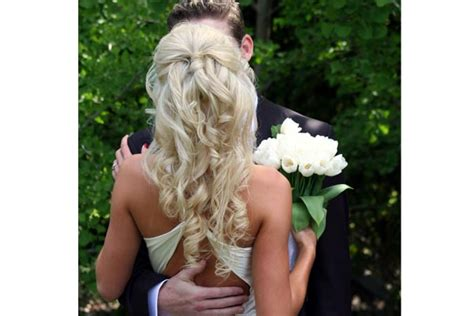 Wedding Hairstyles Half Up Half Down : Half Up Half Down Wedding Hairstyles Pictures