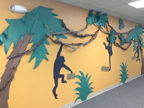 Decorating Ideas Journey The Map by Journey The Map Vbs Monkeying Around With Decorations