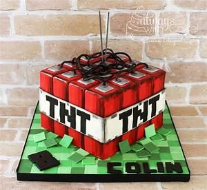 Minecraft Tnt Cake - CakeCentral com