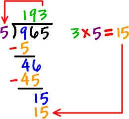 a division problem cornerstone home learning division