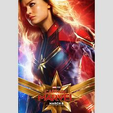 Captain Marvel Character Posters Reveal Brie Larson, Goose, And More Collider