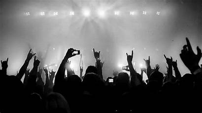 Concert Rock Crowd Vertical Kilobyte