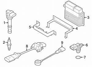 2012 Volkswagen Passat Engine Control Module  Auto  Trans