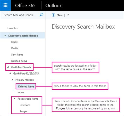 Office 365 Outlook Deleted Items by Recover Deleted Items In A User S Mailbox Admin Help